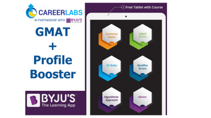 GMAT Profile Booster BYJUS Careerlabs